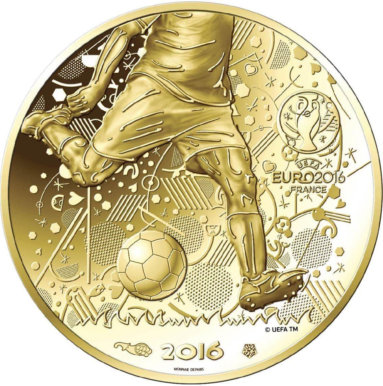 10 Et 100 Euro France Uefa Euro 2016 Belle Epreuve Euro